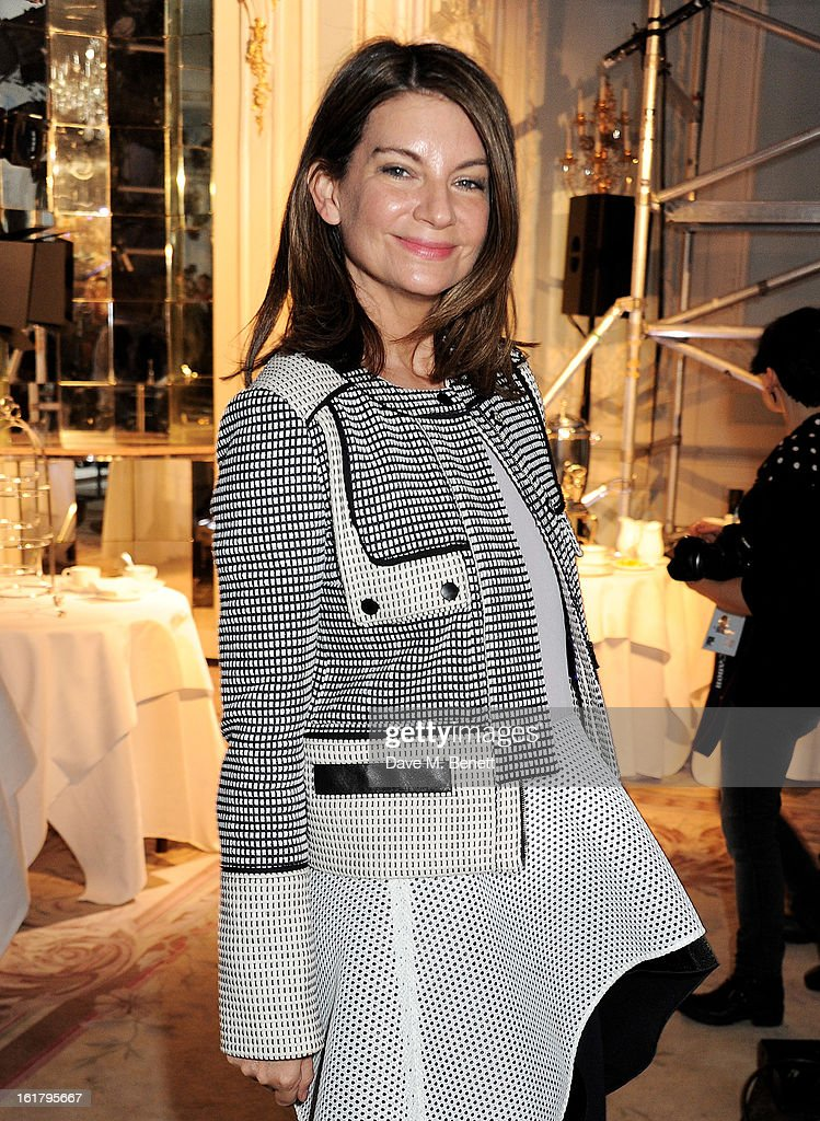 <a gi-track='captionPersonalityLinkClicked' href=/galleries/search?phrase=Natalie+Massenet&family=editorial&specificpeople=2118990 ng-click='$event.stopPropagation()'>Natalie Massenet</a> attends the Moschino cheap&chic show during London Fashion Week Fall/Winter 2013/14 at The Savoy Hotel on February 16, 2013 in London, England.