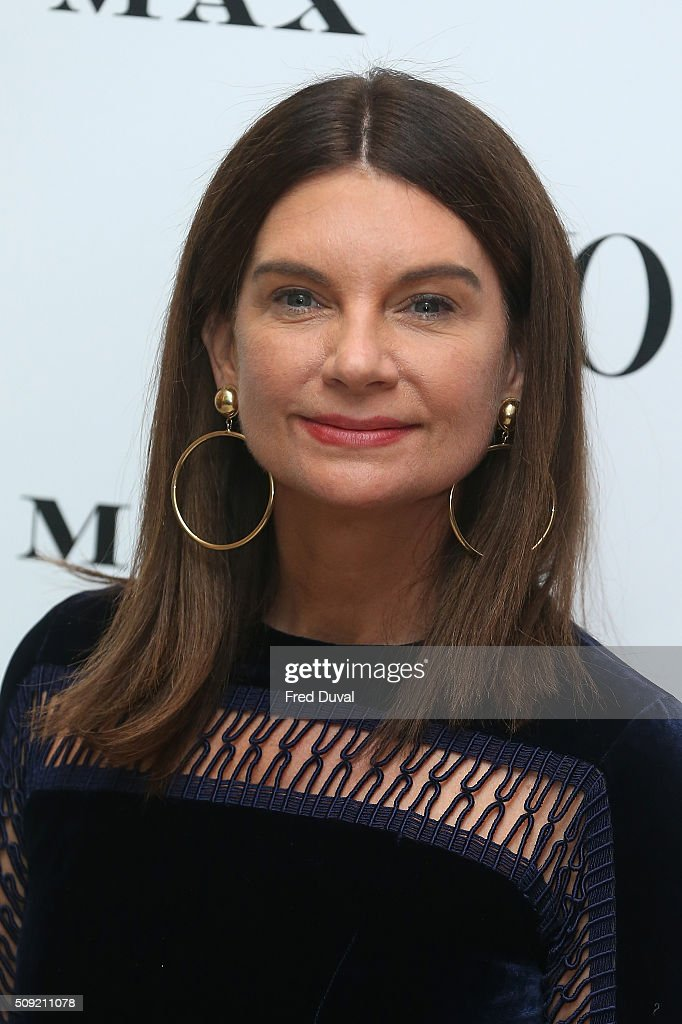 <a gi-track='captionPersonalityLinkClicked' href=/galleries/search?phrase=Natalie+Massenet&family=editorial&specificpeople=2118990 ng-click='$event.stopPropagation()'>Natalie Massenet</a> attends the opening of Vogue100 : A century of Style at National Portrait Gallery on February 9, 2016 in London, England.