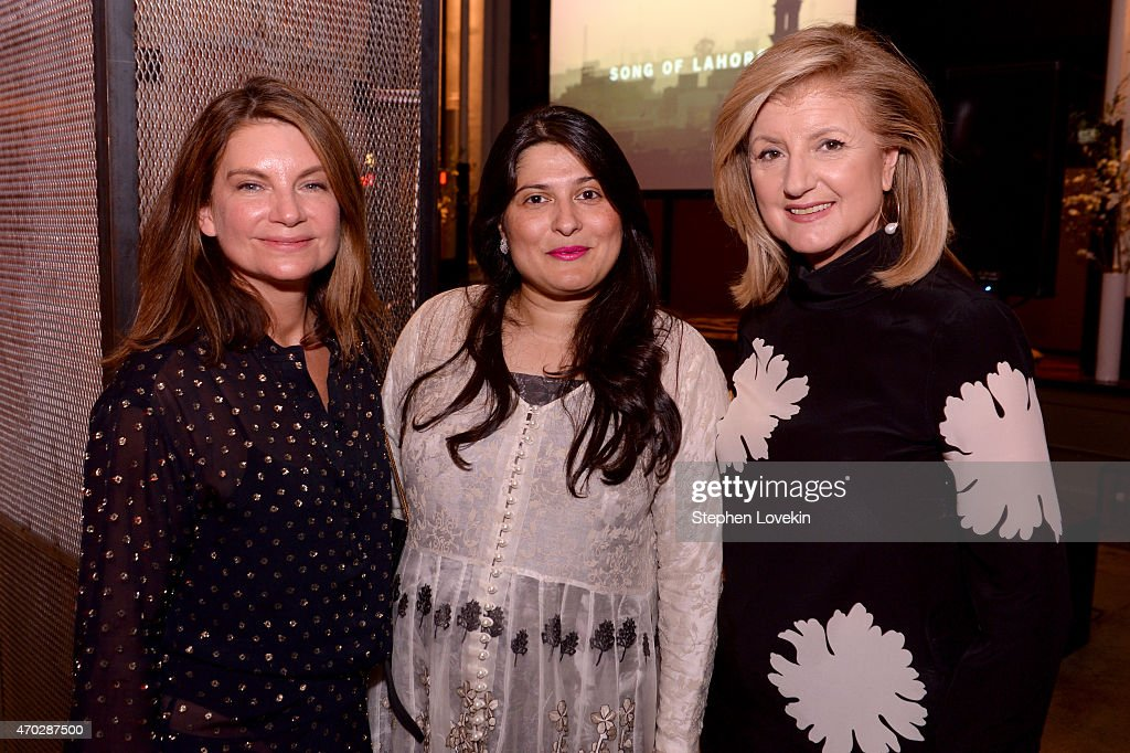<a gi-track='captionPersonalityLinkClicked' href=/galleries/search?phrase=Natalie+Massenet&family=editorial&specificpeople=2118990 ng-click='$event.stopPropagation()'>Natalie Massenet</a>, <a gi-track='captionPersonalityLinkClicked' href=/galleries/search?phrase=Sharmeen+Obaid-Chinoy&family=editorial&specificpeople=5581145 ng-click='$event.stopPropagation()'>Sharmeen Obaid-Chinoy</a> and <a gi-track='captionPersonalityLinkClicked' href=/galleries/search?phrase=Arianna+Huffington&family=editorial&specificpeople=204730 ng-click='$event.stopPropagation()'>Arianna Huffington</a> attend <a gi-track='captionPersonalityLinkClicked' href=/galleries/search?phrase=Natalie+Massenet&family=editorial&specificpeople=2118990 ng-click='$event.stopPropagation()'>Natalie Massenet</a>, <a gi-track='captionPersonalityLinkClicked' href=/galleries/search?phrase=Arianna+Huffington&family=editorial&specificpeople=204730 ng-click='$event.stopPropagation()'>Arianna Huffington</a>, and Jenna Lyons celebrate the Tribeca Film Festival Premiere Of 'Song of Lahore' at Neuehouse on April 18, 2015 in New York City.