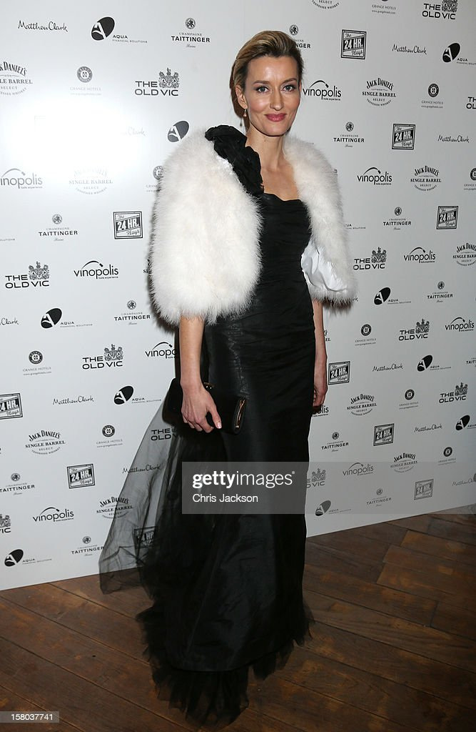 Natalie McElhone attends the post-show party, The 25th Hour, following The Old Vic's 24 Hour Musicals Celebrity Gala 2012 during which guests drank Jack Daniels Single Barrel, Curtain Raiser cocktails in The Great Halls, Vinopolis, Borough on December 9, 2012 in London, England.