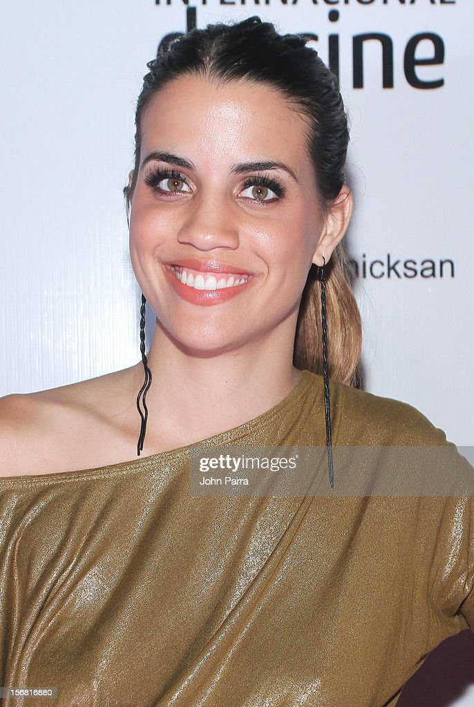 Natalie Morales arrives to the Closing Night Gala for the Baja International Film Festival at Los Cabos Convention Center on November 17, 2012 in Cabo San Lucas, Mexico.