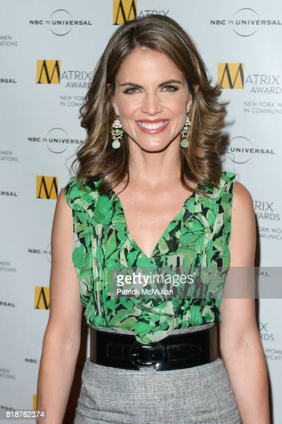 Natalie Morales attends New York WOMEN IN COMMUNICATIONS Presents The 2010 MATRIX AWARDS at Waldorf Astoria on April 19 2010 in New York City