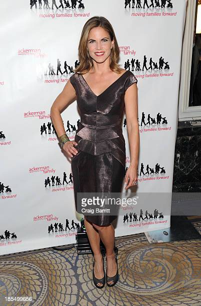 Natalie Morales attends the 2013 Families Moving Forward gala at The Waldorf Astoria on October 21 2013 in New York City