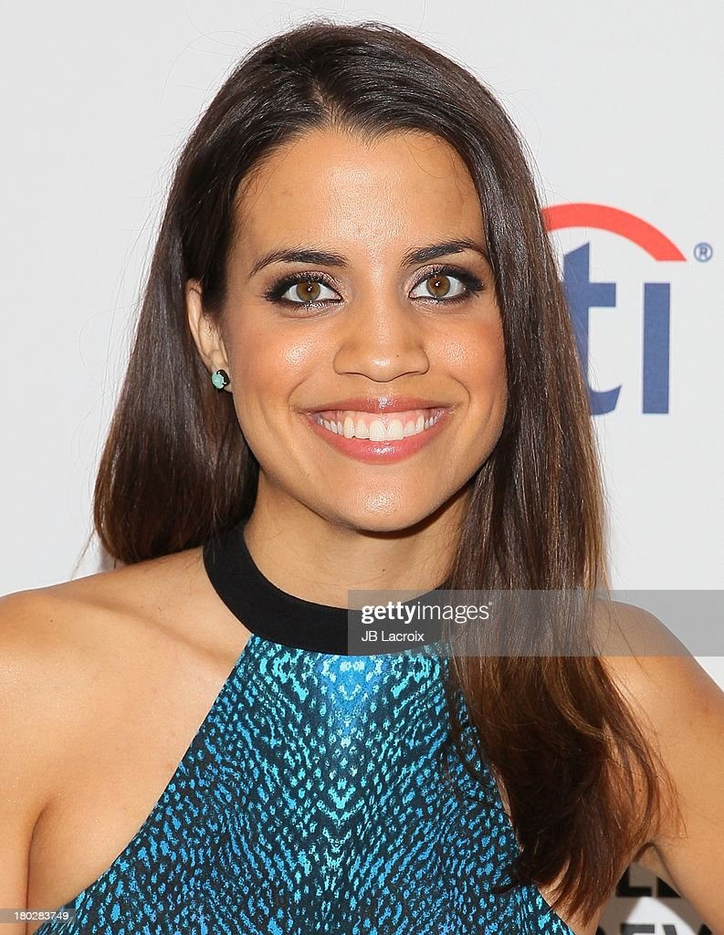 <a gi-track='captionPersonalityLinkClicked' href=/galleries/search?phrase=Natalie+Morales+-+Actrice&family=editorial&specificpeople=15326754 ng-click='$event.stopPropagation()'>Natalie Morales</a> attends the 2013 PaleyFestPreviews: Fall TV - ABC held at The Paley Center for Media on September 10, 2013 in Beverly Hills, California.