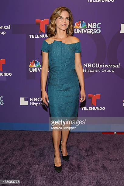 Natalie Morales attends the 2015 Telemundo and NBC Universo Upfront at Frederick P Rose Hall Jazz at Lincoln Center on May 12 2015 in New York City