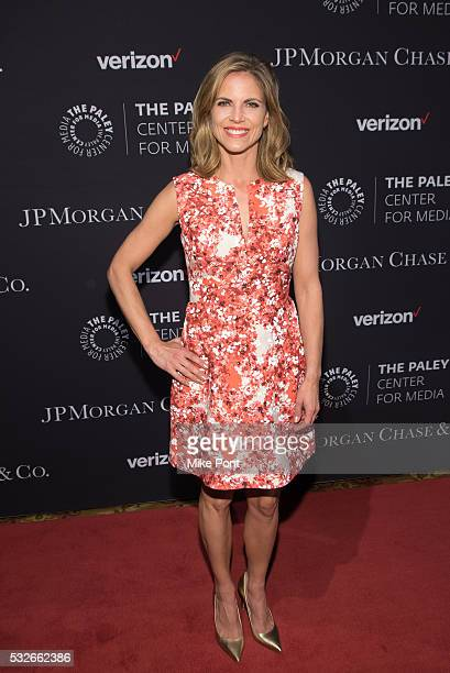 Natalie Morales attends the 2016 Paley Center for Media's Tribute To Hispanic Achievements In Television at Cipriani Wall Street on May 18 2016 in...