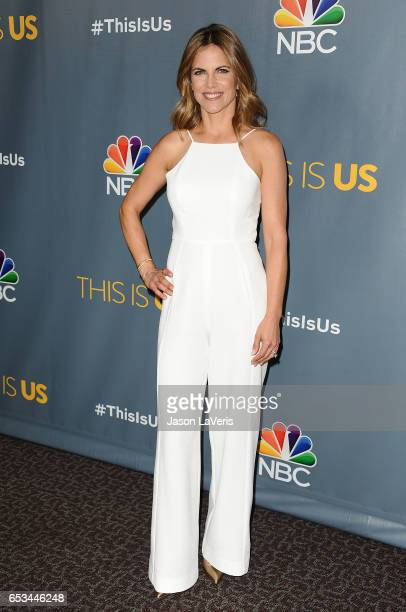Natalie Morales attends the finale screening of 'This Is Us' at Directors Guild Of America on March 14 2017 in Los Angeles California