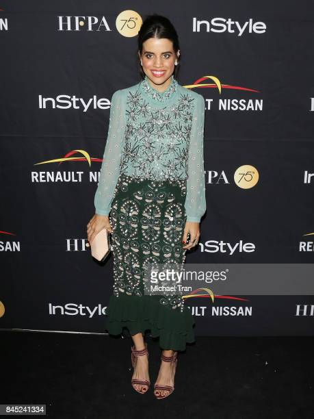 Natalie Morales attends the HFPA InStyle Annual Celebration of 2017 Toronto International Film Festival held at Windsor Arms Hotel on September 9...