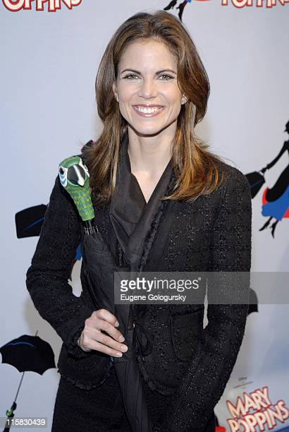 Natalie Morales during 'Mary Poppins' Broadway Opening Night at the New Amsterdam Theatre Arrivals November 16 2006 at New Amsterdam Theatre in New...