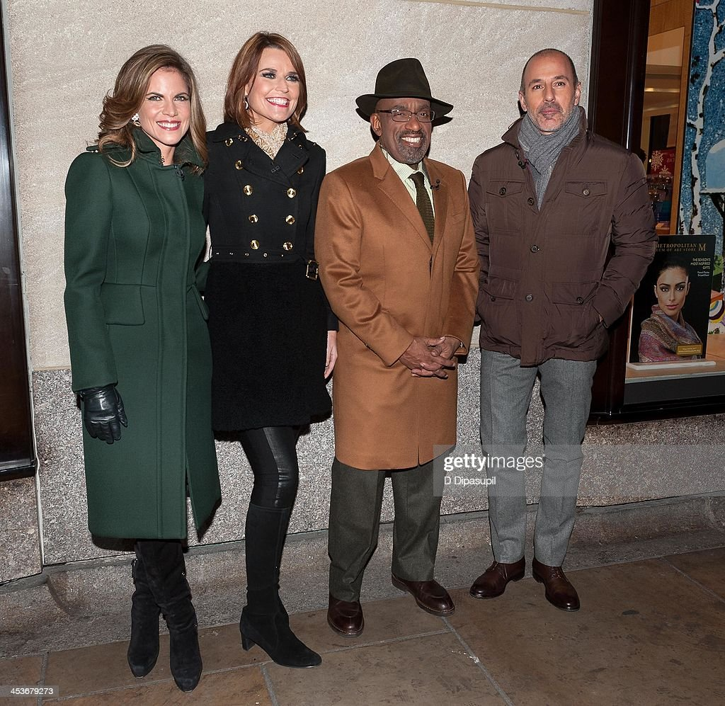 <a gi-track='captionPersonalityLinkClicked' href=/galleries/search?phrase=Natalie+Morales+-+News+Anchor&family=editorial&specificpeople=710956 ng-click='$event.stopPropagation()'>Natalie Morales</a>, <a gi-track='captionPersonalityLinkClicked' href=/galleries/search?phrase=Savannah+Guthrie&family=editorial&specificpeople=653313 ng-click='$event.stopPropagation()'>Savannah Guthrie</a>, <a gi-track='captionPersonalityLinkClicked' href=/galleries/search?phrase=Al+Roker&family=editorial&specificpeople=206153 ng-click='$event.stopPropagation()'>Al Roker</a>, and <a gi-track='captionPersonalityLinkClicked' href=/galleries/search?phrase=Matt+Lauer&family=editorial&specificpeople=206146 ng-click='$event.stopPropagation()'>Matt Lauer</a> attend the 81st annual Rockefeller Center Christmas Tree Lighting Ceremony on December 4, 2013 in New York City.