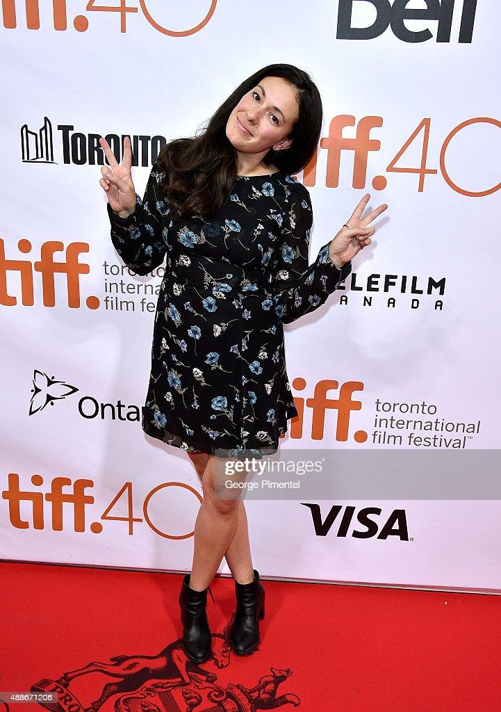 Natalie Petozzi attends the 'Forsaken' premiere during the 2015 Toronto International Film Festival at Roy Thomson Hall on September 16, 2015 in Toronto, Canada.