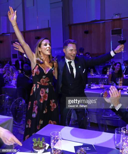 Natalie Pinkham and Ronan Keating attend the 50th anniversary of The Beatles SGT Pepper Album at Abbey Road Studios for End The Silence and HopeHomes...