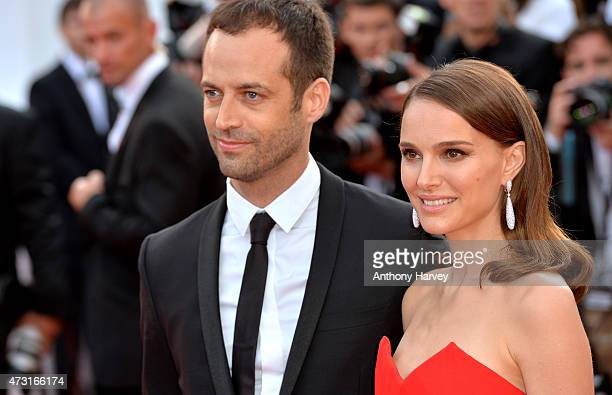 Natalie Portman and choreographer Benjamin Millepied attend the opening ceremony and 'La Tete Haute' premiere during the 68th annual Cannes Film...