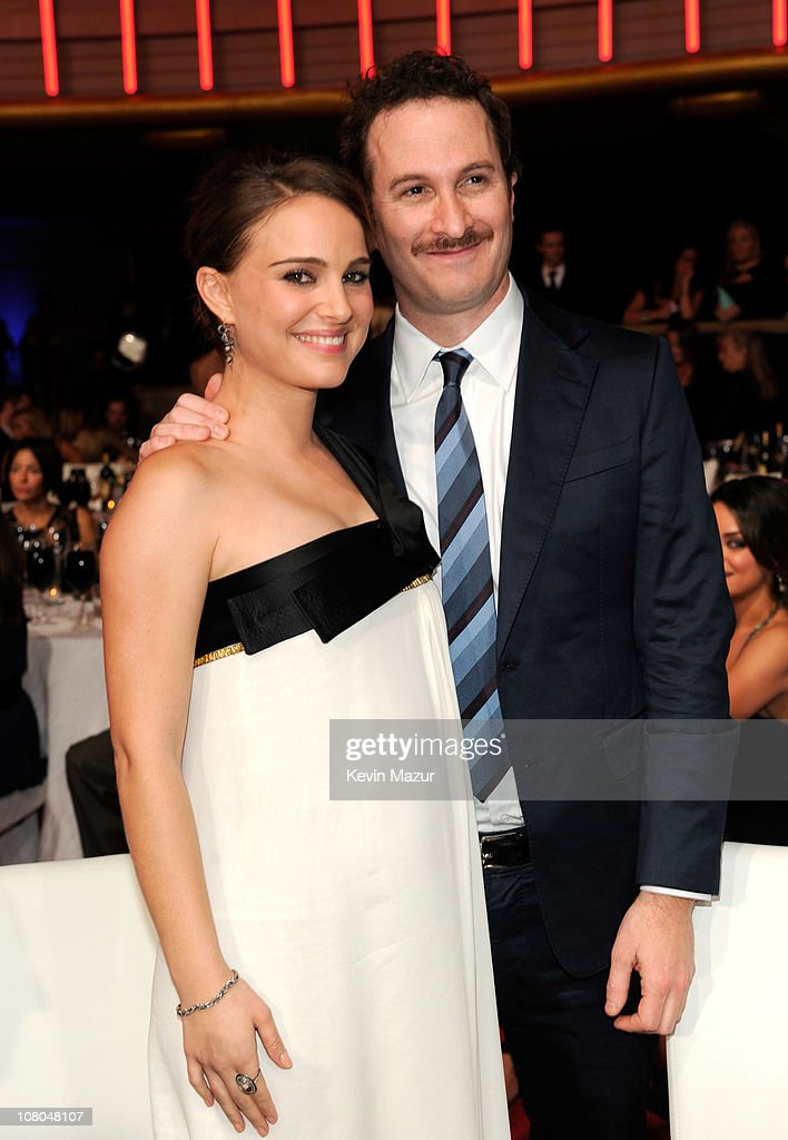 Natalie Portman and Darren Aronofsky attends the 16th Annual Critics Choice Movie Awards at the Hollywood Palladium on January 14, 2011 in Los Angeles, California.