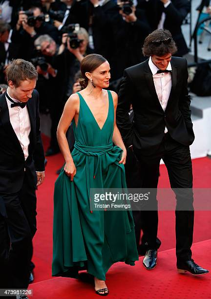 Natalie Portman and guests attend the 'Sicario' Premiere during the 68th annual Cannes Film Festival on May 19 2015 in Cannes France