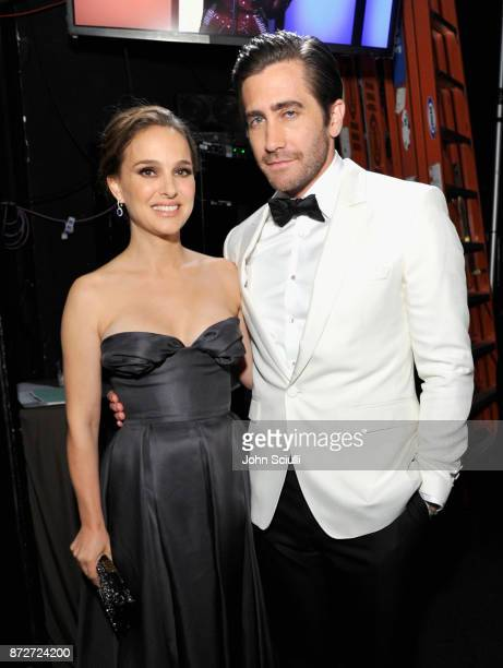 Natalie Portman and Jake Gyllenhaal attend the 31st American Cinematheque Award Presentation Honoring Amy Adams Presented by GRoW @ Annenberg...