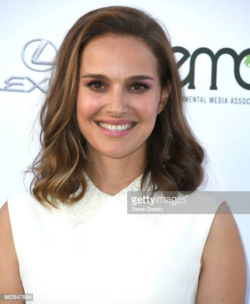 Natalie Portman arrives at the 27th Annual EMA Awards at Barker Hangar on September 23 2017 in Santa Monica California