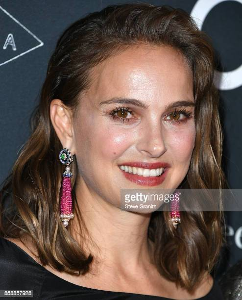 Natalie Portman arrives at the LA Dance Project's Annual Gala at LA Dance Project on October 7 2017 in Los Angeles California
