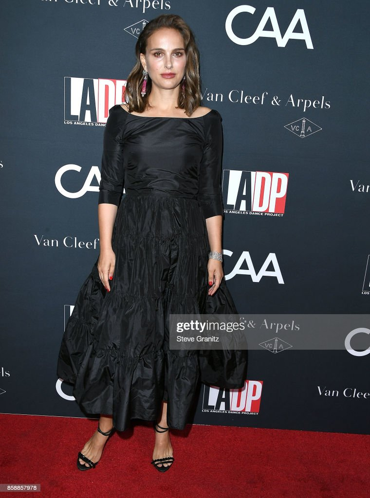 Natalie Portman arrives at the L.A. Dance Project's Annual Gala at L.A. Dance Project on October 7, 2017 in Los Angeles, California.