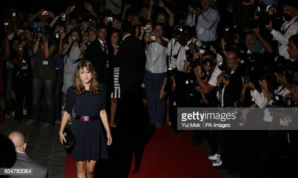 Natalie Portman arrives for her Movie for Humanity Award Kineo Diamanti al Cinema Award at Hotel Des Baines on Venice Lido Italy during the 65th...