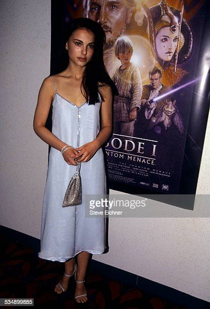 Natalie Portman at premiere of 'Star Wars The Phantom Menace' New York May 16 1999