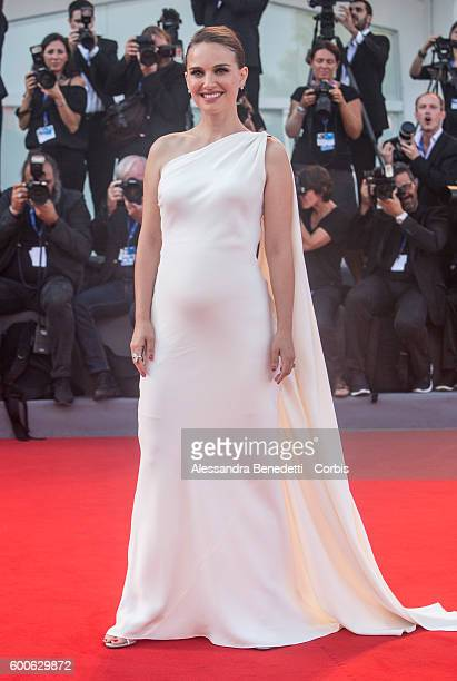 Natalie Portman attends a premiere for 'Planetarium' during the 73rd Venice Film Festival at Palazzo del Cinema on September 8 2016 in Venice Italy