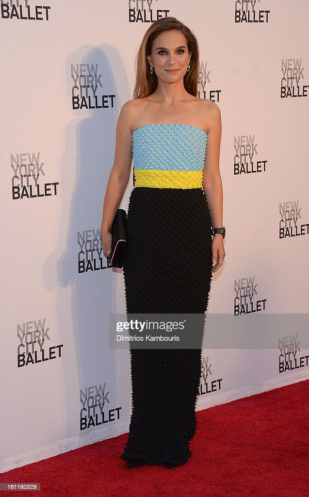 Natalie Portman attends New York City Ballet 2013 Fall Gala at David H. Koch Theater, Lincoln Center on September 19, 2013 in New York City.