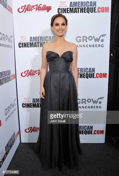 Natalie Portman attends the 31st American Cinematheque Award Presentation Honoring Amy Adams Presented by GRoW @ Annenberg Presentation of The 3rd...