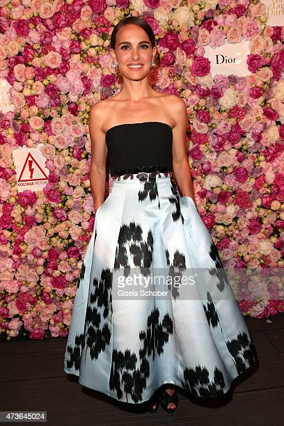 Natalie Portman attends the 'A Tale of Love and Darkness' Party during the 68th annual Cannes Film Festival on May 16 2015 in Cannes France