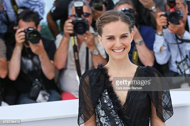 Natalie Portman attends the 'A Tale Of Love And Darkness' photocall during the 68th annual Cannes Film Festival on May 17 2015 in Cannes France