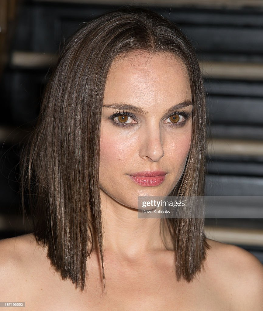 Natalie Portman attends the after party for the screening of 'Thor: The Dark World' hosted by The Cinema Society and Dior Beauty at The Marlton on November 6, 2013 in New York City.