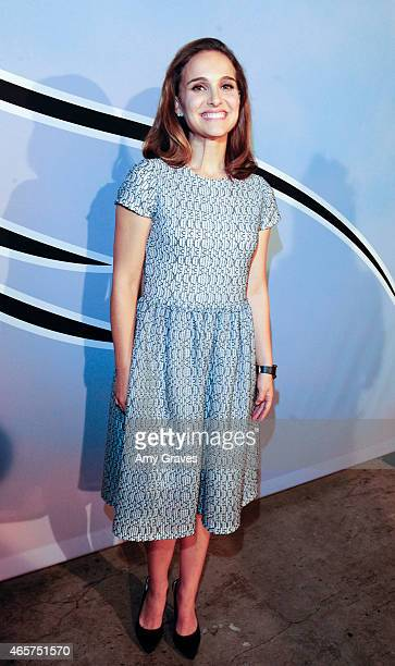 Natalie Portman attends the LA Dance Project Benefit Gala at the Cooper Building on October 25 2014 in Los Angeles California