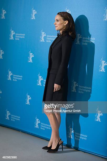 Natalie Portman attends the 'Knight of Cups' photocall during the 65th Berlinale International Film Festival at Grand Hyatt Hotel on February 8 2015...