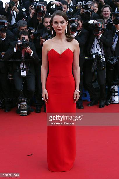 Natalie Portman attends the opening ceremony and 'La Tete Haute' premiere during the 68th annual Cannes Film Festival on May 13 2015 in Cannes France