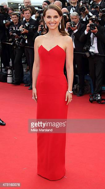 Natalie Portman attends the opening ceremony and premiere of 'La Tete Haute during the 68th annual Cannes Film Festival on May 13 2015 in Cannes...