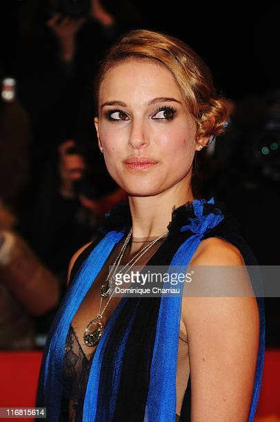 Natalie Portman attends The Other Boleyn Girl premiere during day nine of the 58th Berlinale Film Festival at the Berlinale Palast on February 15...
