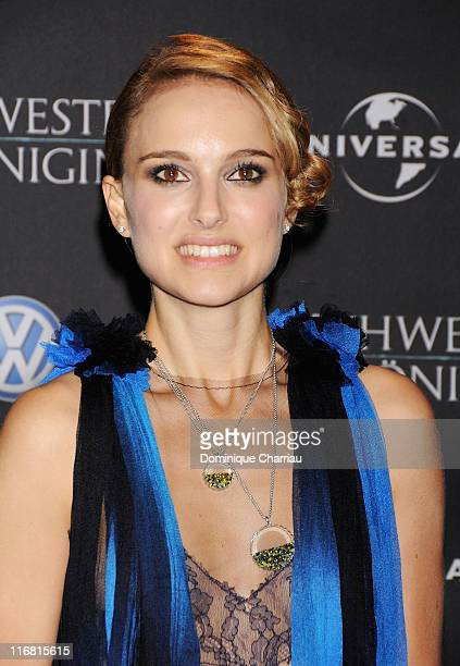 Natalie Portman attends the 'The Other Boleyn Girl' Party as part of the 58th Berlinale Film Festival at the Barenstaal on February 15 2008 in Berlin...