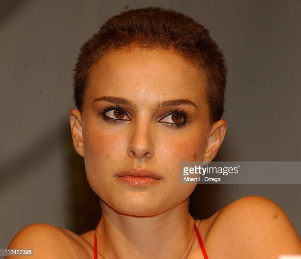 Natalie Portman during 36th Annual Comic Con International Day Two at San Diego Convention Center in San Diego California United States