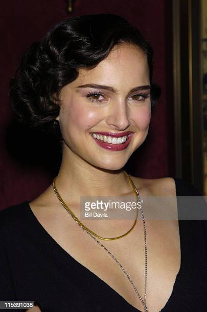 Natalie Portman during 'Cold Mountain' New York Premiere Inside Arrivals at The Ziegfeld Theater in New York City New York United States