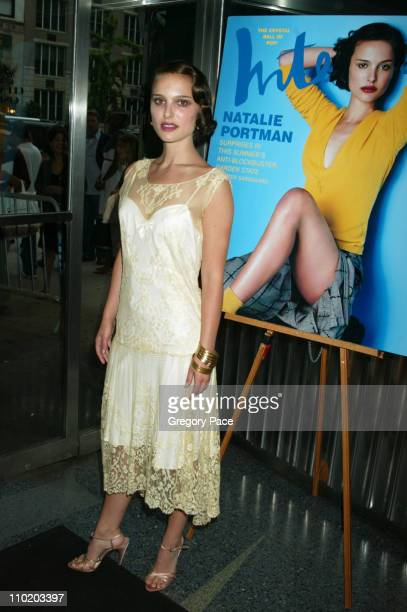 Natalie Portman during 'Garden State' New York Premiere Inside Arrivals at Chelsea Clearview Cinemas in New York City New York United States