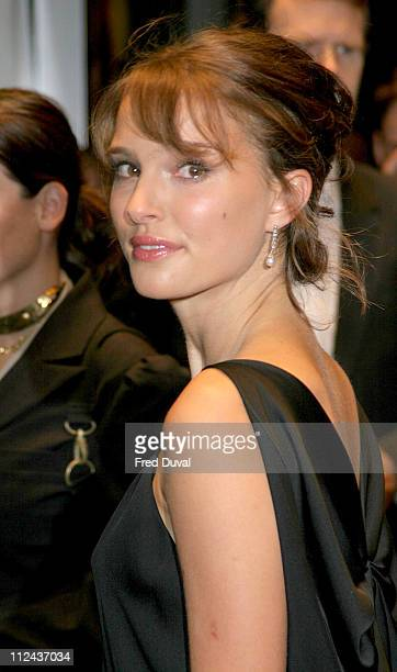 Natalie Portman during The Times BFI London Film Festival 2004 'Garden State' London Premiere at Odeon West End in London Great Britain