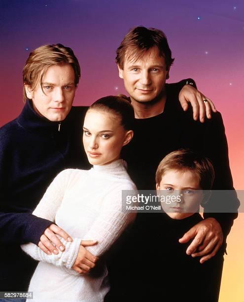 Natalie Portman Ewan McGregor Liam Neeson and Jake Lloyd