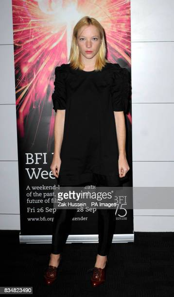 A Story In Pictures Party to mark the 75th anniversary of the British Film Institute at the BFI Southbank in south London