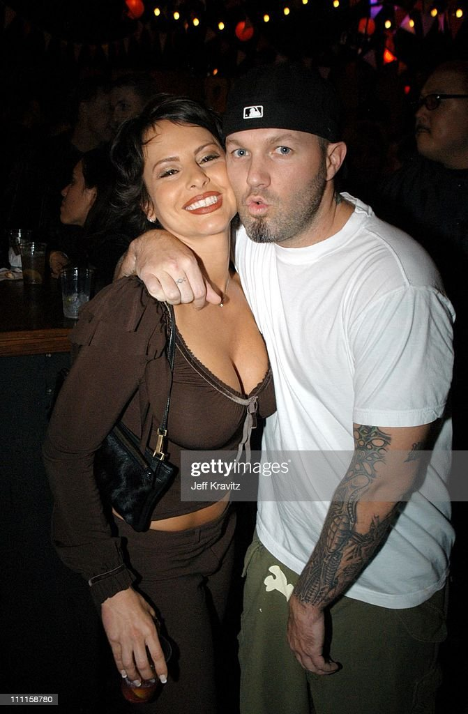 Natalie Raitano & Fred Durst during Old School After Party at Highlands Night Club in Hollywood, CA, United States.