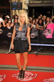 Natalie Reznik arrives on the red carpet of the 20th Annual MuchMusic Video Awards at the MuchMusic HQ on June 21 2009 in Toronto Canada