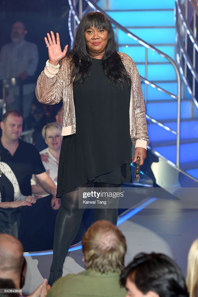Natalie Rowe becomes the second housemate evicted from the Big Brother House at Elstree Studios on June 24, 2016 in Borehamwood, England.
