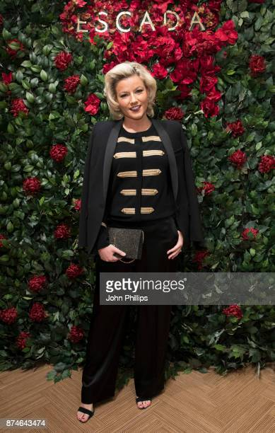 Natalie Rushdie attends New Flagship Store Opening of Luxury Fashion Brand ESCADA on Sloane Street on November 15 2017 in London England