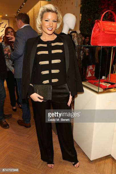 Natalie Rushdie attends the launch of the ESCADA Flagship store on Sloane Street on November 15 2017 in London England