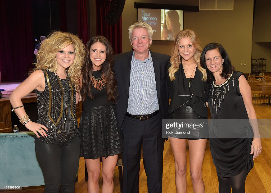 Natalie Stovall, Kelleigh Bannen, Brian Thomas, Kelsea Ballerini and Leslie Fram attend the CMT Next Women Of Country at City Winery Nashville on November 4, 2014 in Nashville, Tennessee.