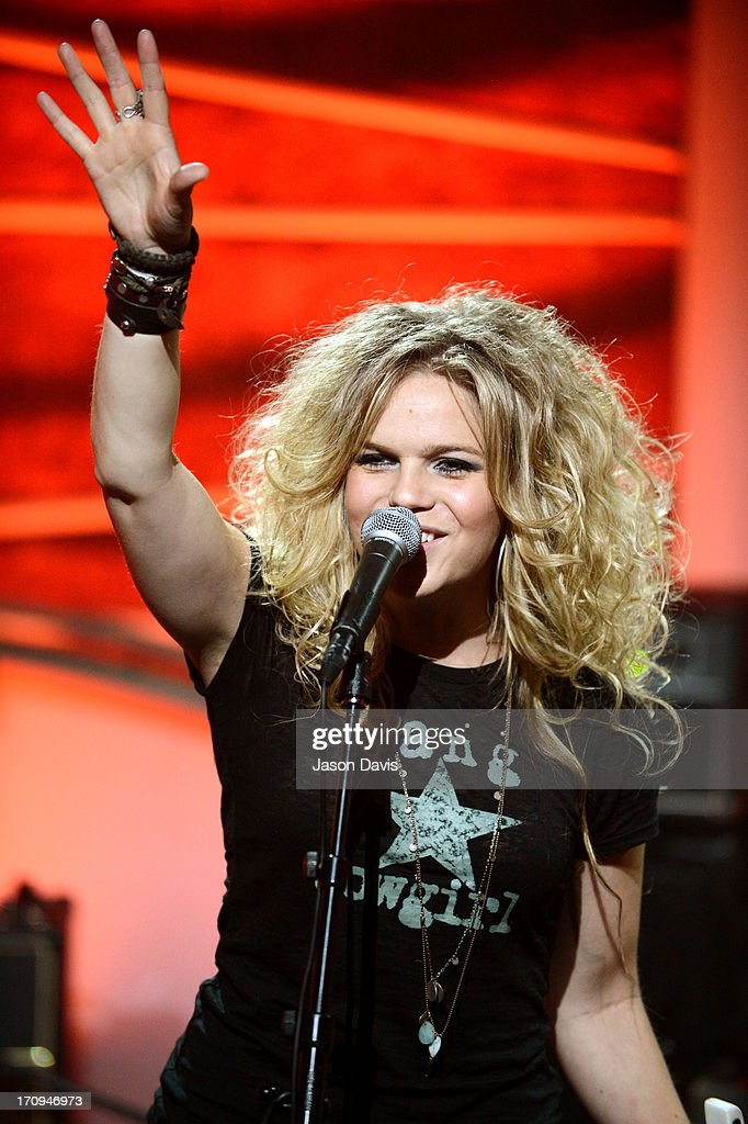 Natalie Stovall performs during the MTV, VH1, CMT & LOGO 2013 O Music Awards on June 20, 2013 in Nashville, Tennessee.